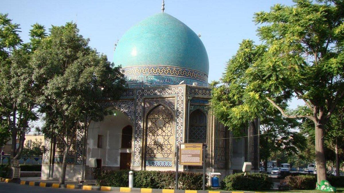 معرفی گنبد سبز مشهد یا همان مقبره شیخ محمد مومن عارف استرآبادی